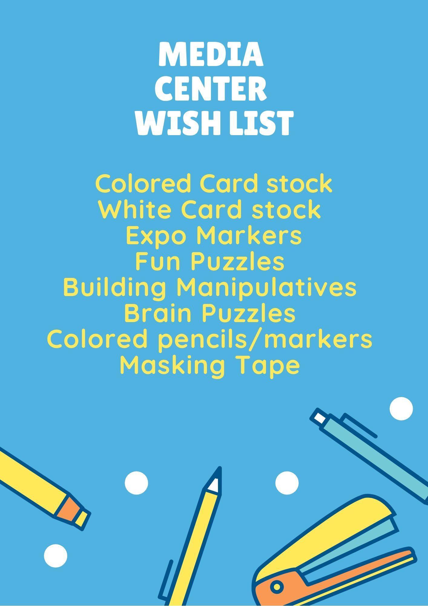 Media Center Wish list