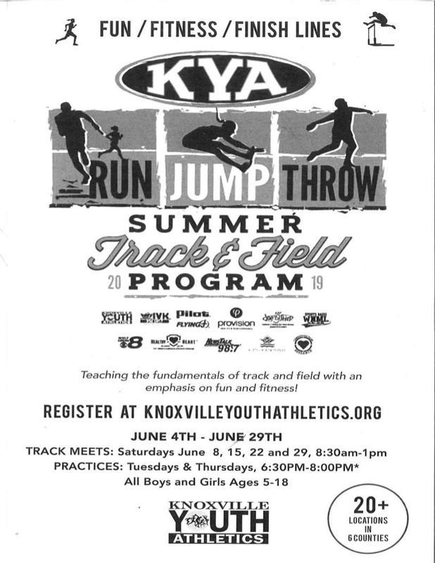 Summer Track & Field Program Featured Photo