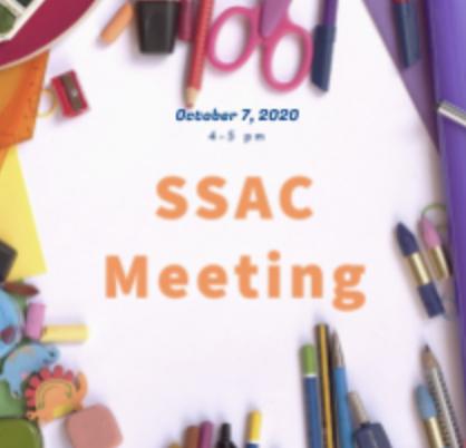 SSAC Meeting October 7 Click here! - Reunión del SSAC 7 de octubre haga clic! Thumbnail Image