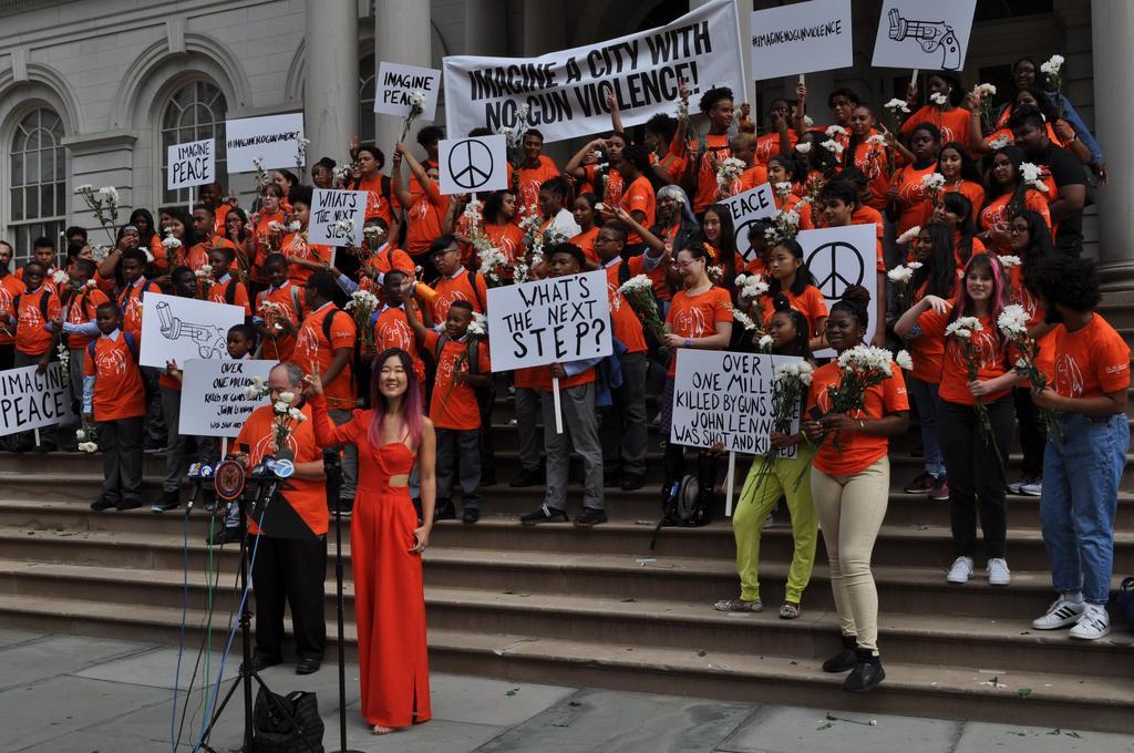Anti-Gun Rally @City Hall
