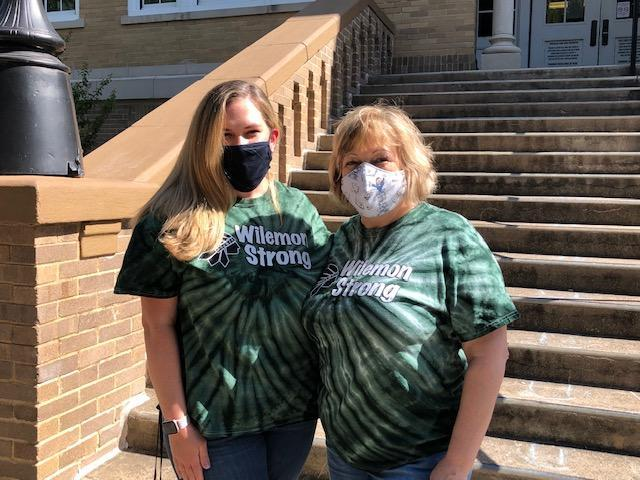 Wilemon Library Team masked up!