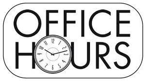 office hours clipart
