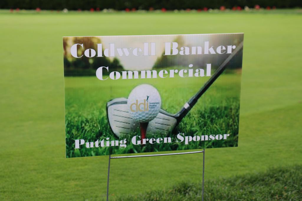 DDI's 2019 Annual Golf Classic sponsor sign