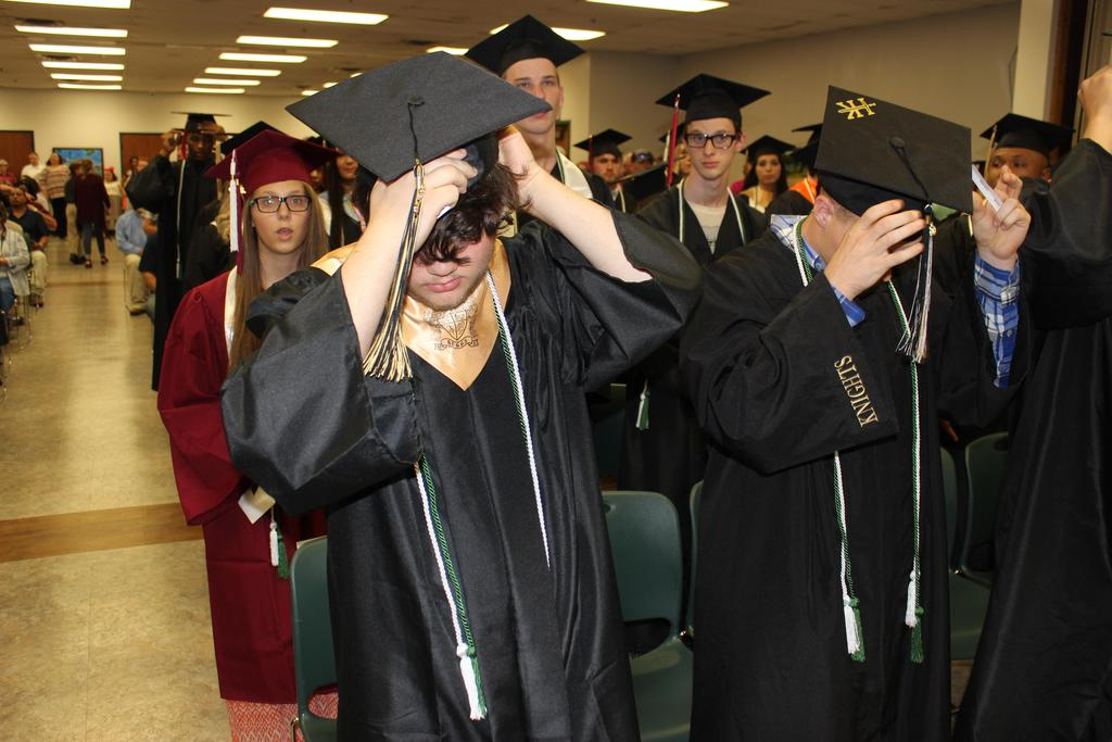 Student adjust cap