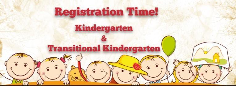 TK /KINDERGARTEN and NEW STUDENT REGISTRATION ONLINE NOW Featured Photo