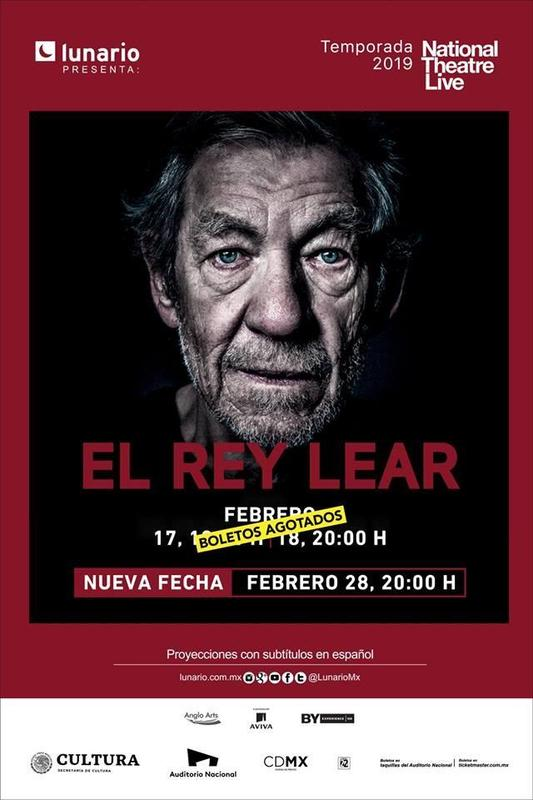 ¡Abren nueva fecha para NTLive King Lear! Featured Photo