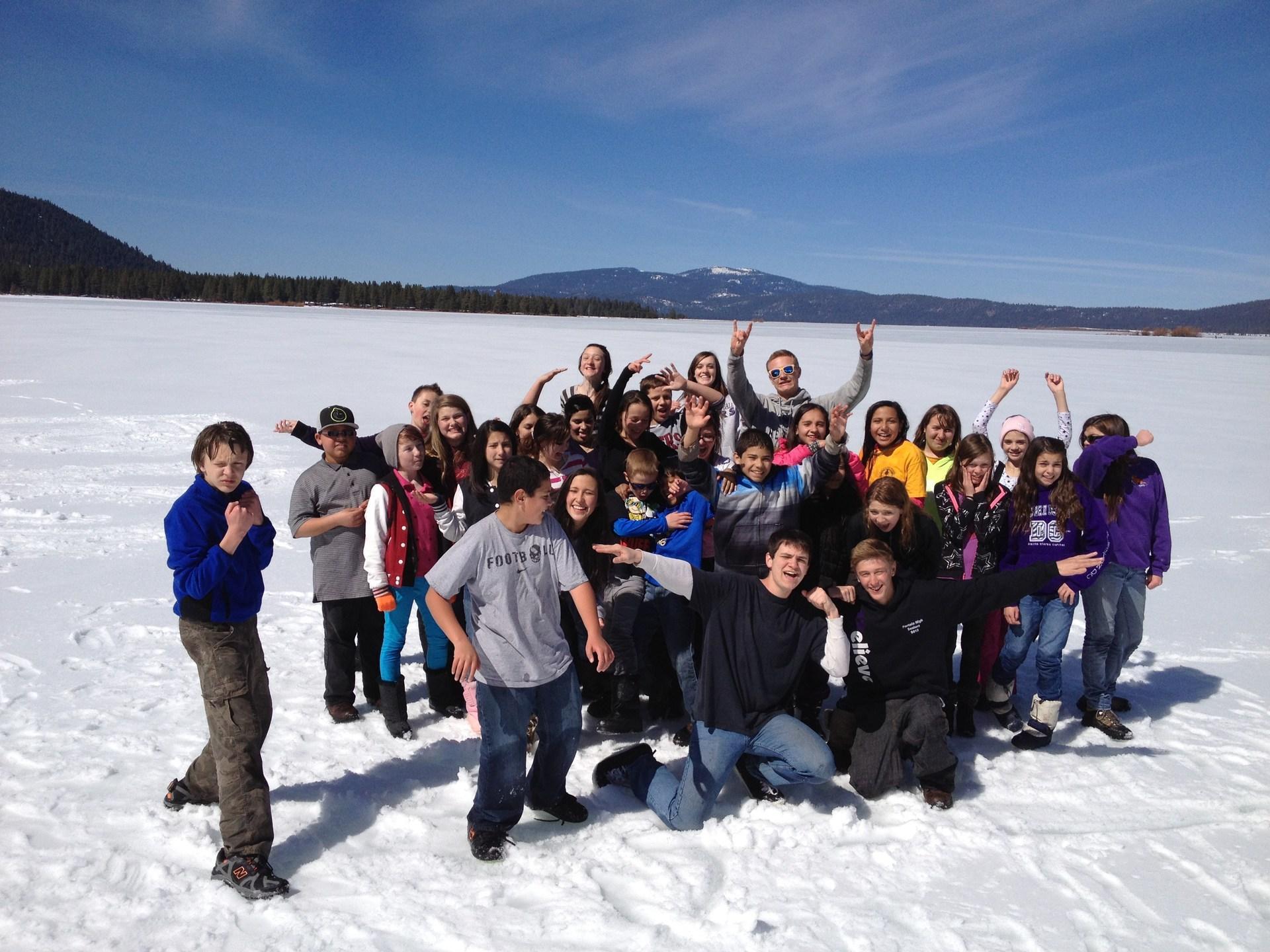 Snow Field Trip