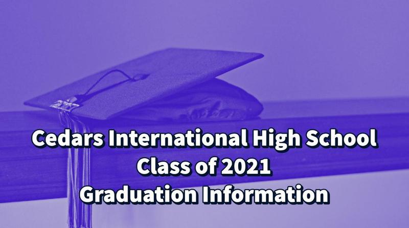 2021 Graduation Information