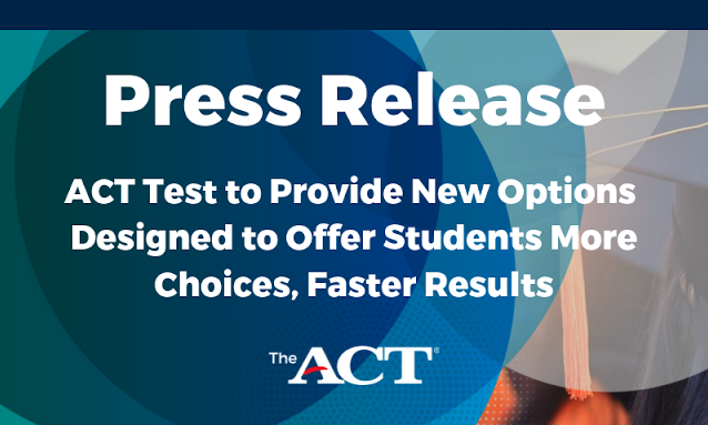 ACT Press Release