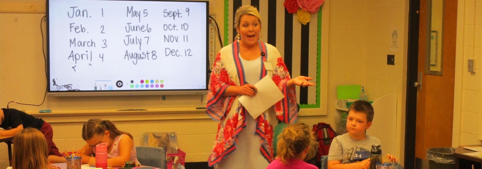 Mrs. Baugh's second grade