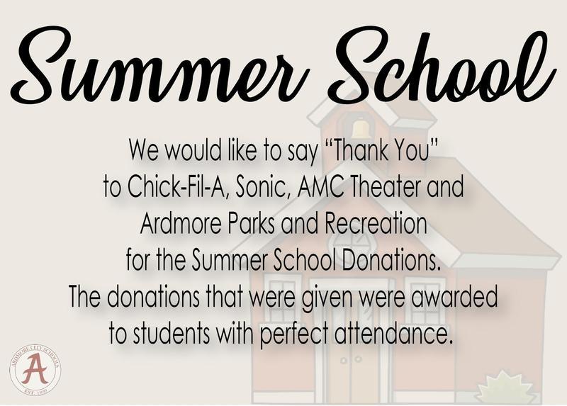 Summer School News! Featured Photo