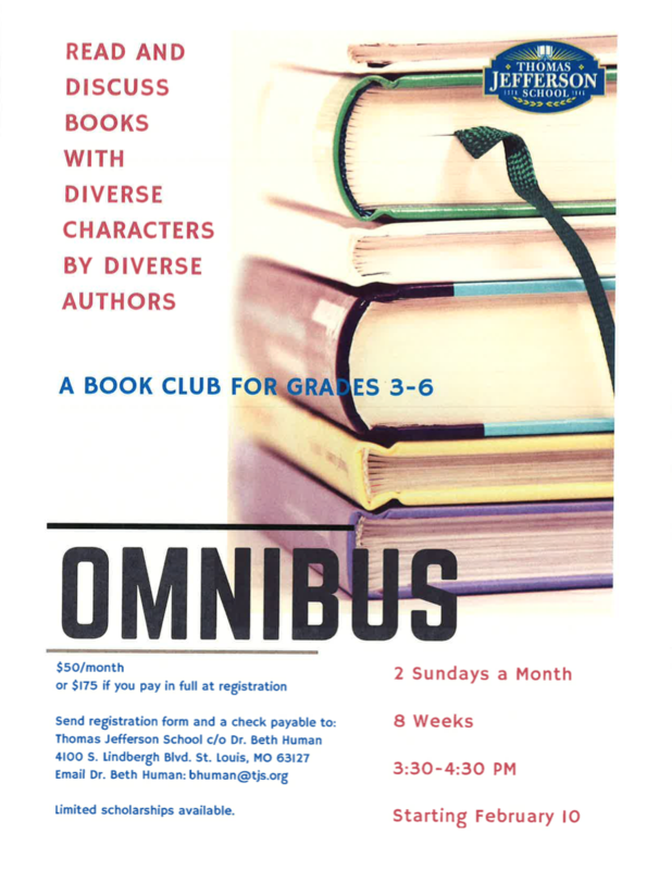 Omnibus: A Book Club for Grades 3-6 Featured Photo