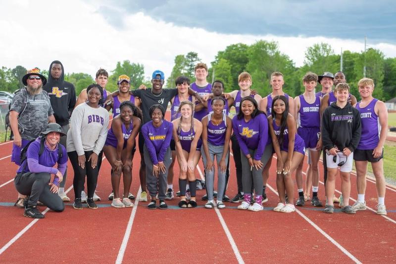 BCHS Track & Field Team 2021
