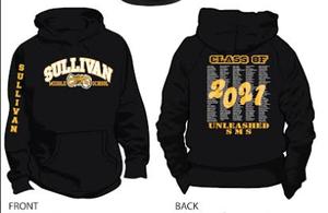 Class of 2021 Hoodie Sweatshirt