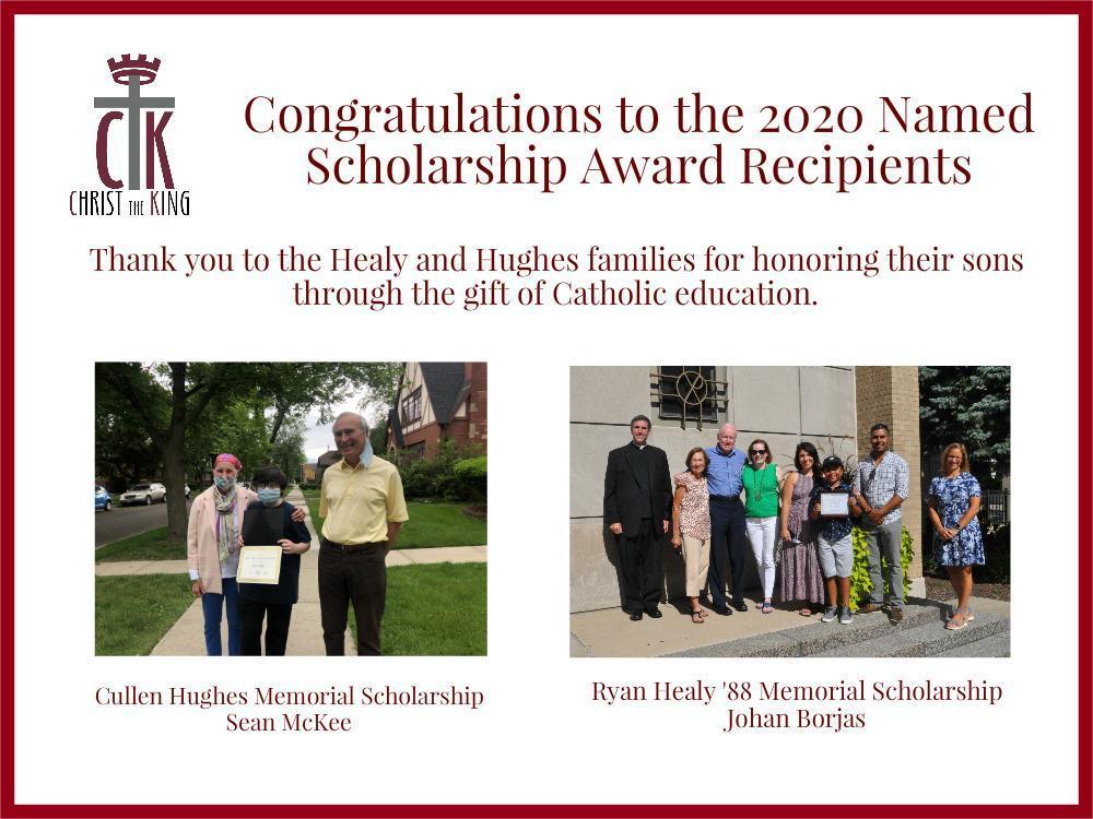 2020 Named Scholarships
