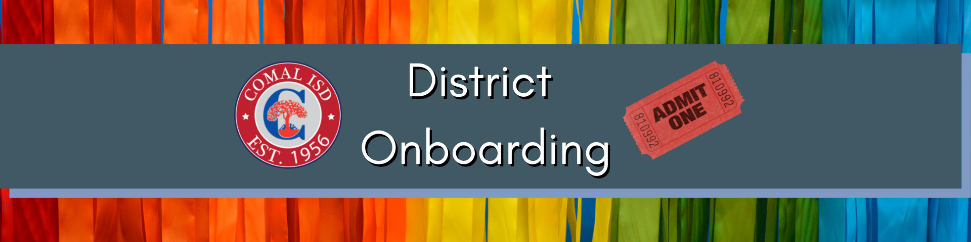 District Onboarding