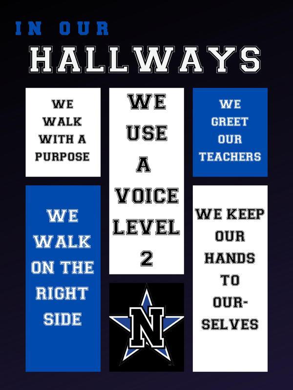 NJH Hallway Expectations Featured Photo