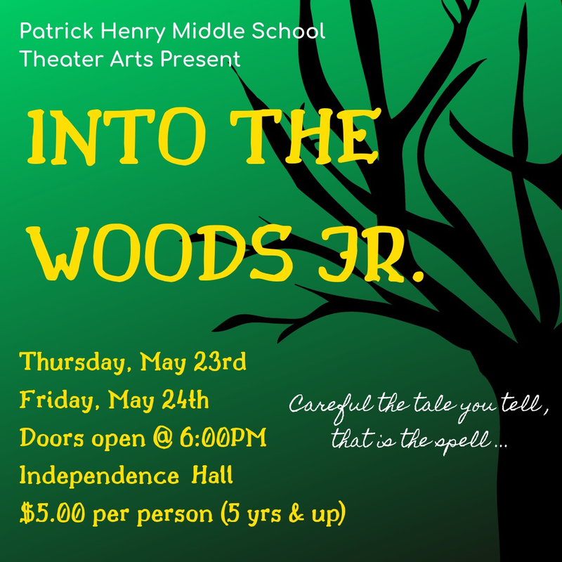 Spring Theater Production - Into the Woods Featured Photo