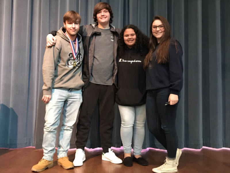 Eagles at Pee Dee Regional High School Mathematics Tournament Featured Photo