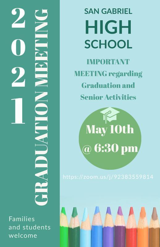 Senior Graduation Information Meeting Featured Photo