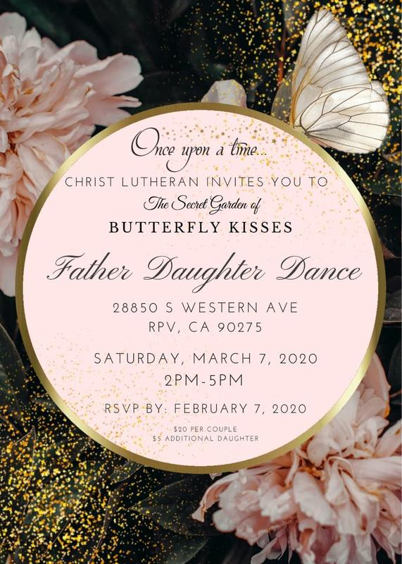 Father Daughter Dance March 7th 2:00 PM- 5:00 PM Featured Photo