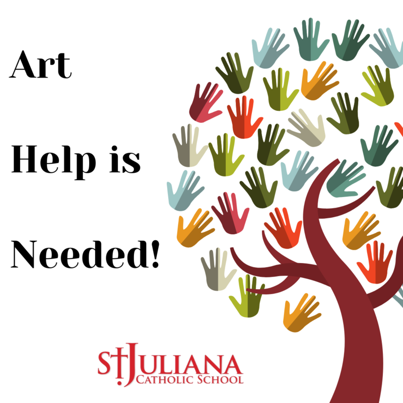Art Helpers Needed! Featured Photo