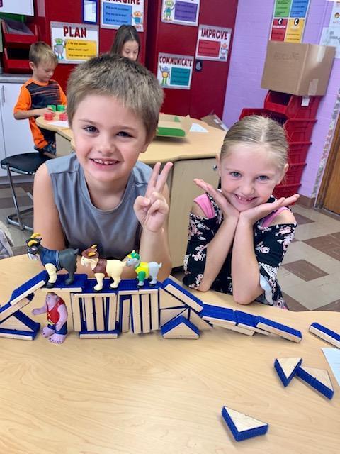 Second Grade STEM Lab Featured Photo