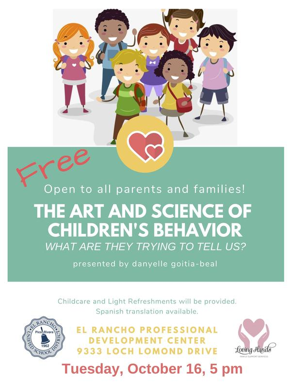Behavior Workshop Flyer