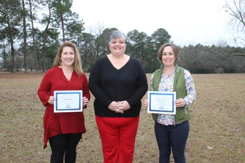 Congratulations to Allison Cook and Wendi Miller on being nominated for the Presidential Awards for Excellence in Mathematics and Science Teaching.
