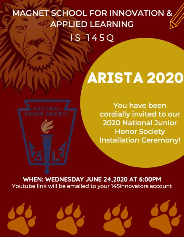 Arista Invitation