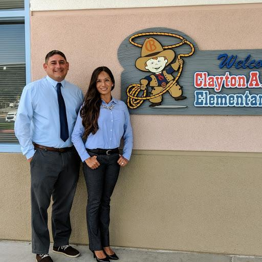 Andrew Mante, Principal and Renee Carbajal, Assist. Principal