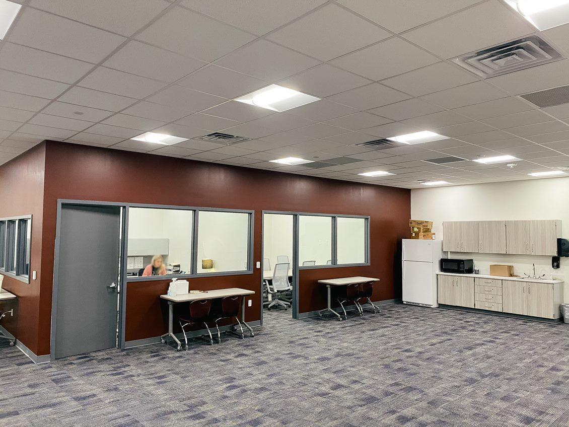 office and reception space