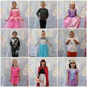First grade fairy tale day