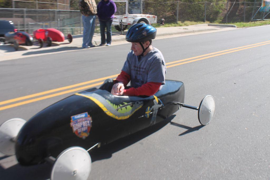 student racing car