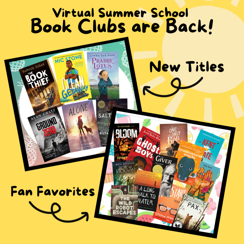 sign up for summer book club graphic
