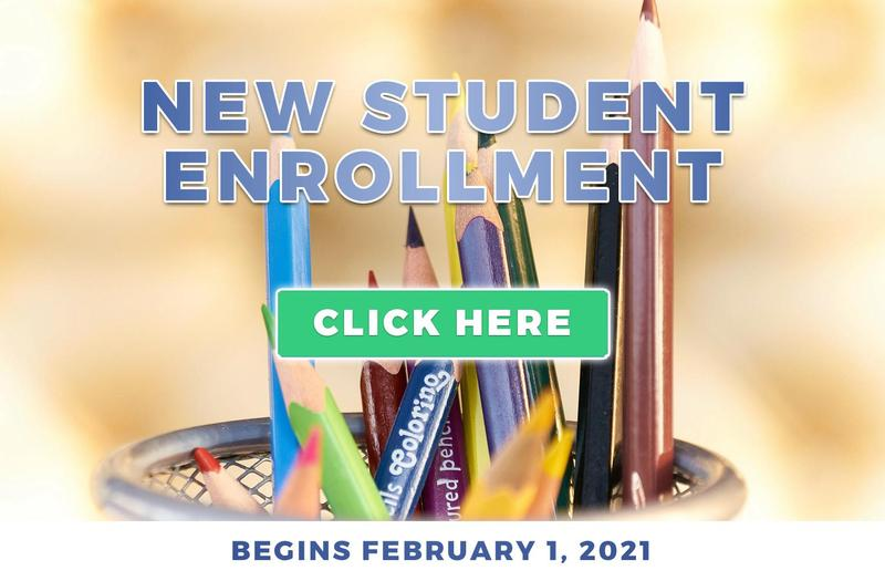 New Student Enrollment Going on Now