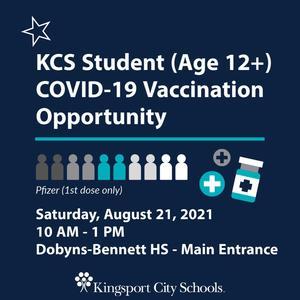 Student vaccine info
