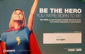 Picture of Be the Hero - Stop Bullying Poster