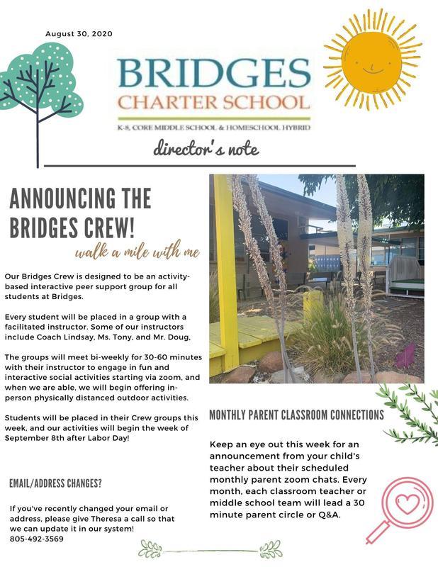 August 30 newsletter