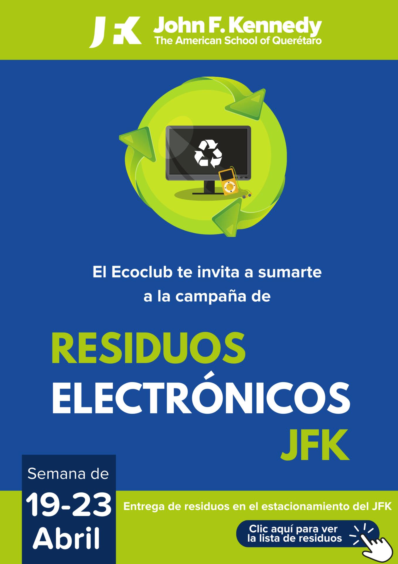 Campaña Residuos Electrónicos