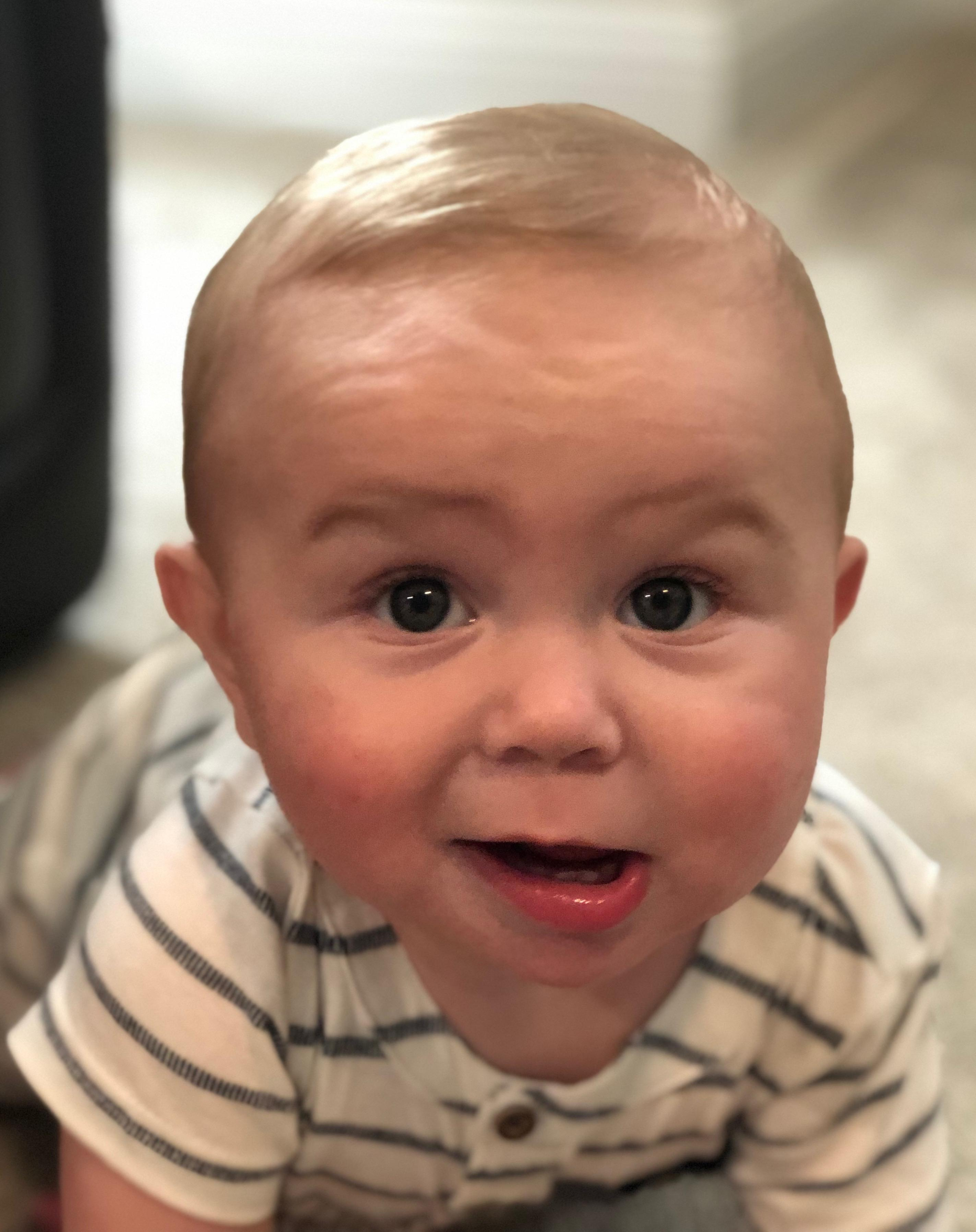 Grandson Liam Thomas Angelini