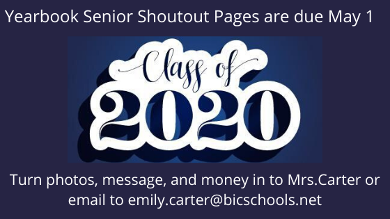 Senior Shoutouts for Yearbook Featured Photo