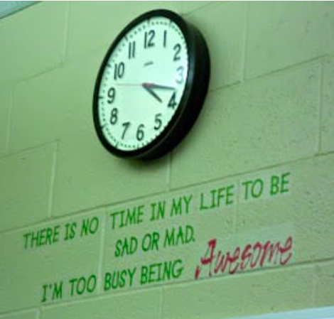 Find time to be awesome