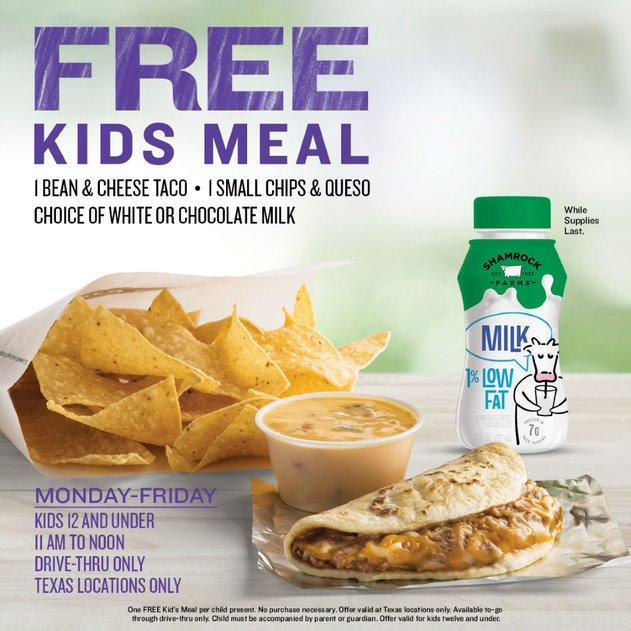 taco_cabana_free_kids_meals_summer_2020_flyer
