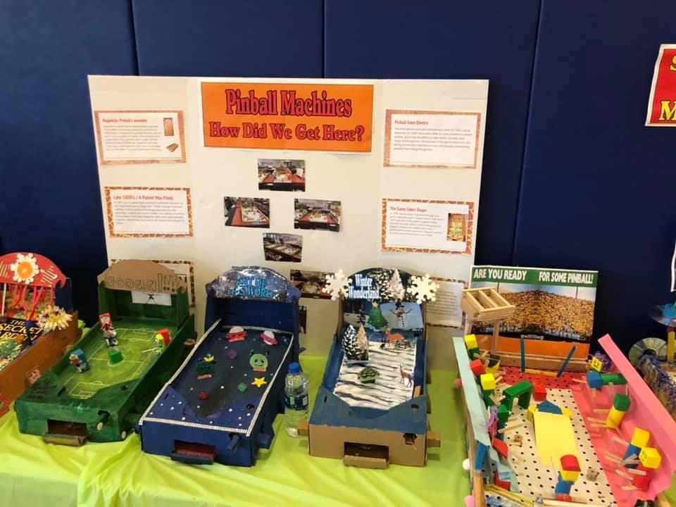 Pinball machine coding table