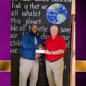 Bank Corp South Donates to CMS