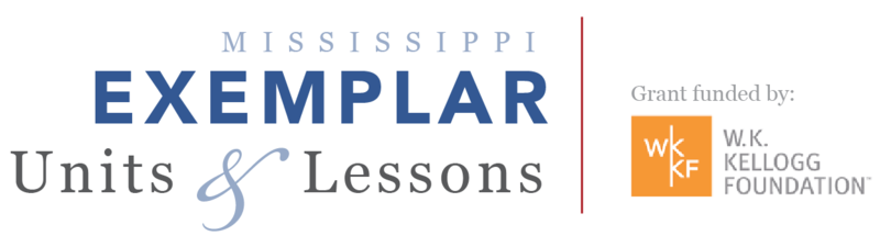 Mississippi Exemplar Units and Lesson Plans for Teachers Thumbnail Image