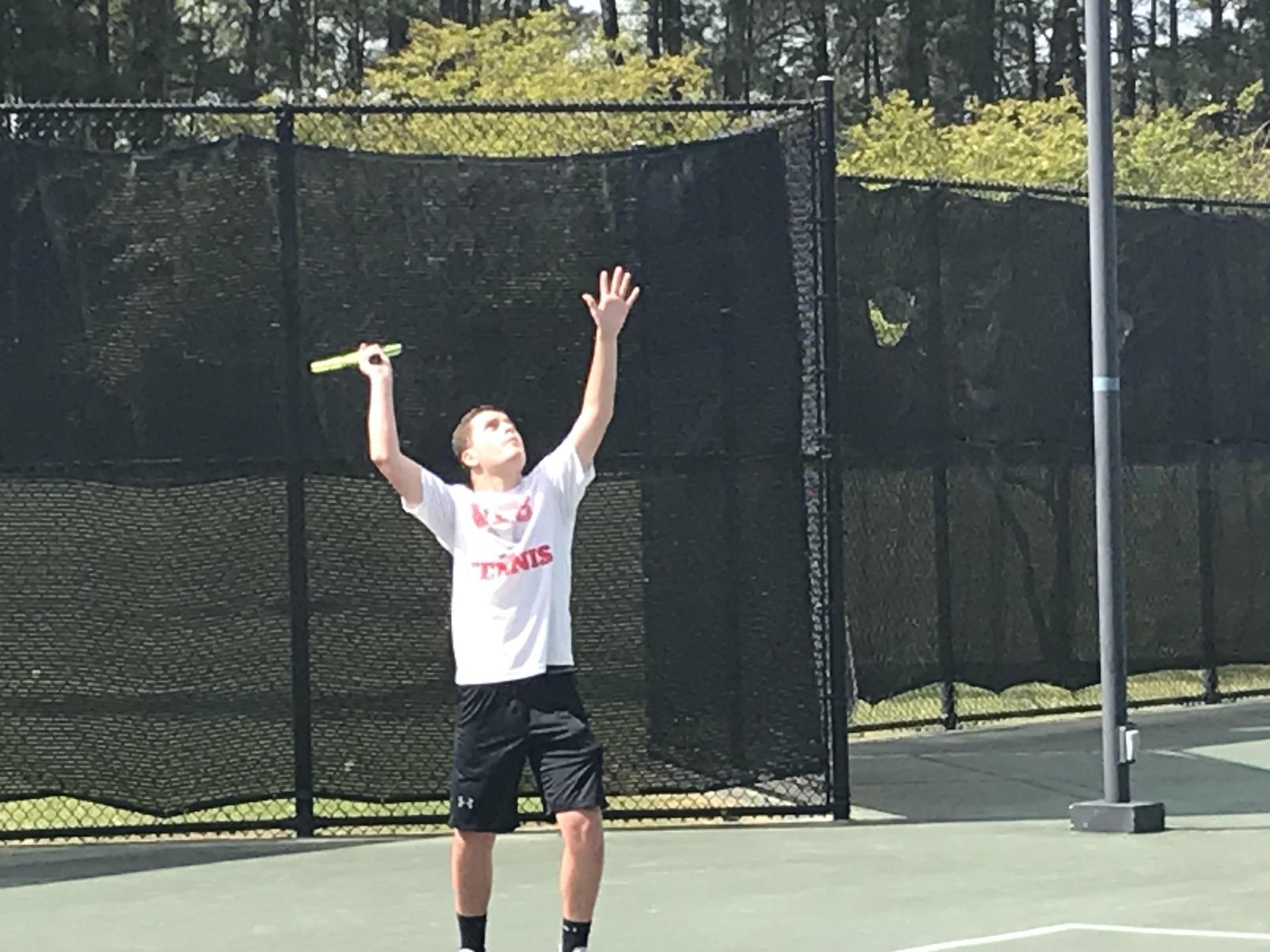 NEHS Tennis Player