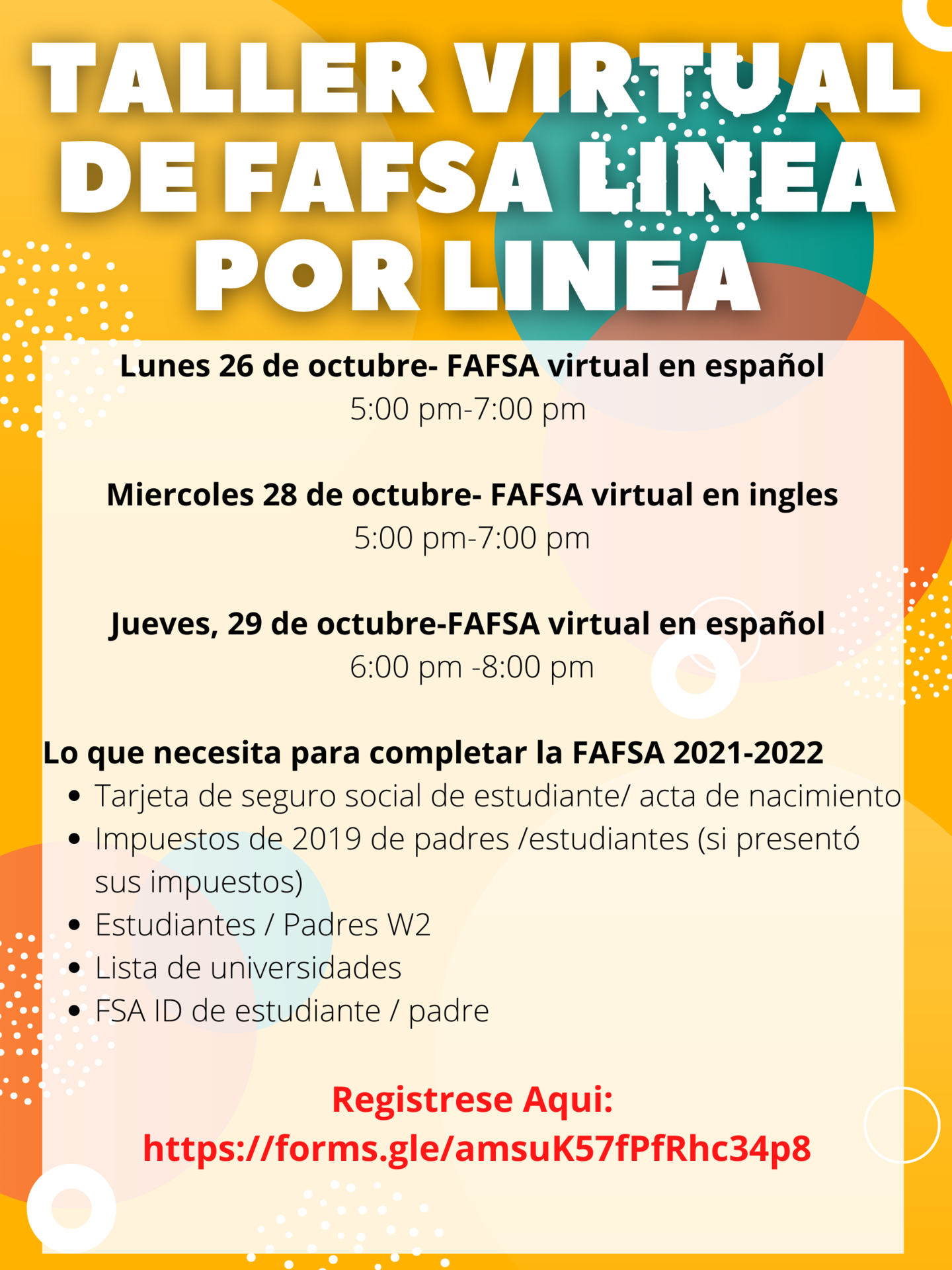 spanish fafsa