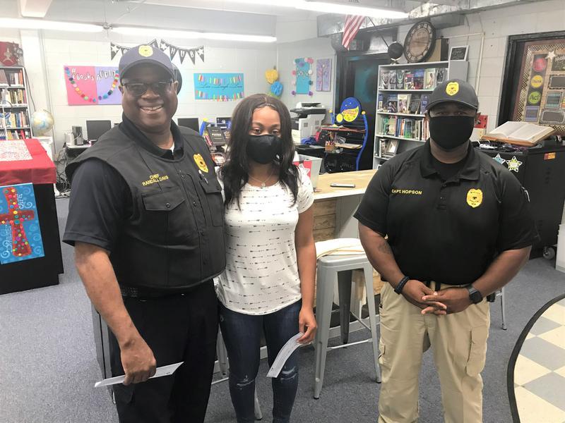 WLHS: Marion Police Department Scholarship Presentation